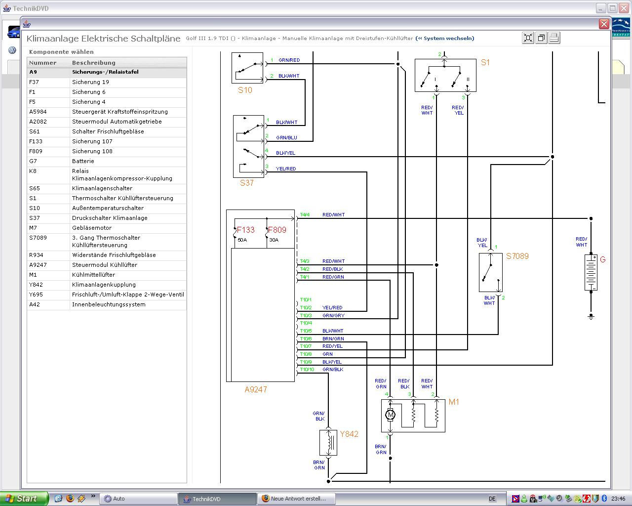 Probleme mit manueller Klimaanlage - Elektrik / Elektronik ...